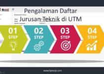 Pengalaman Daftar Kuliah Jurusan Teknik di Univerisiti Teknologi Malaysia [Daftar Mandiri Sampai Lulus]