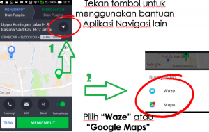Cara Mengatur Navigasi Default pada Aplikasi Grab Driver