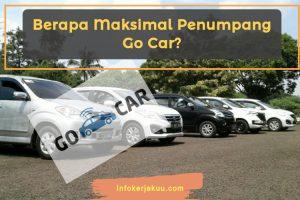 Maksimal Penumpang Go Car
