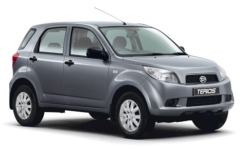 syarat mobil grab Daihatsu Terios