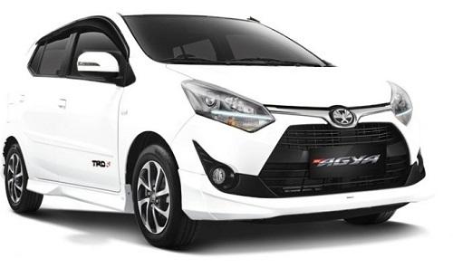 Toyota Agya jenis mobil grabcar indonesia jenis mobil grabcar indonesia