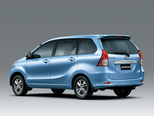 Toyota Avanza jenis mobil grabcar