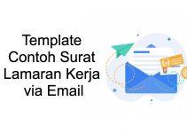 13 Contoh Surat Lamaran Kerja Via Email, Ampuh Untuk Dapatkan Kerja!