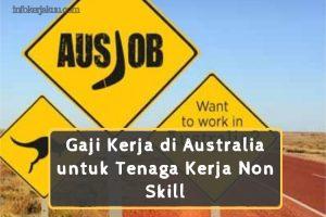 Gaji Kerja di Australia