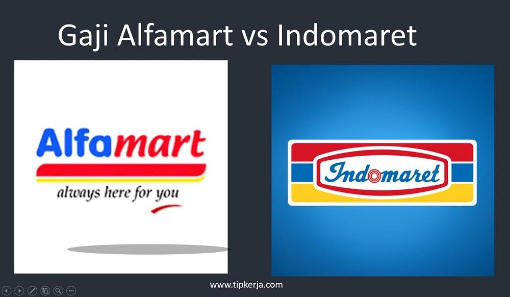 gaji pegawai alfamart vs indomaret