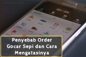 Order Gocar Sepi