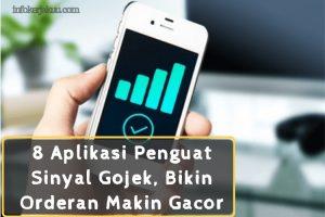 Aplikasi Penguat Sinyal Gojek