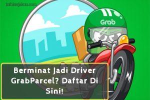 cara daftar Driver GrabParcel