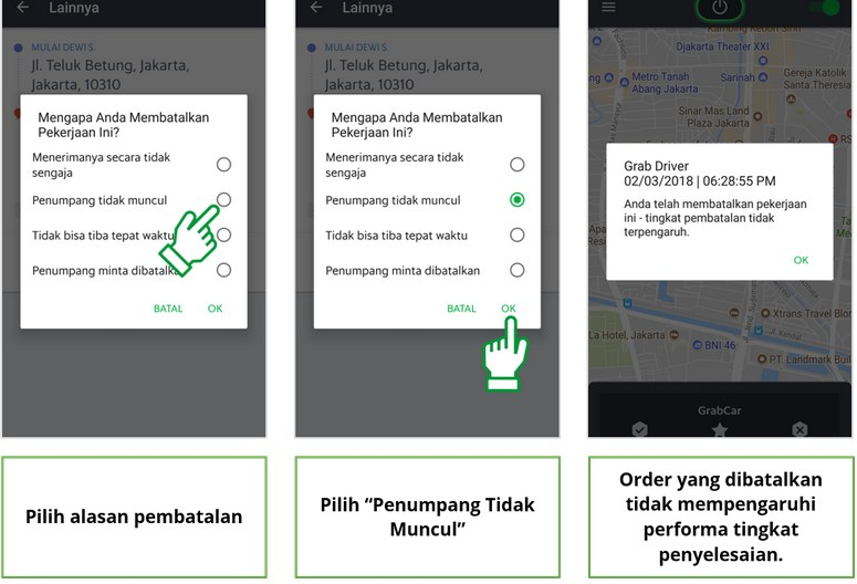 cara setting GPS Xiaomi GO-JEK