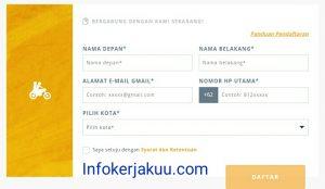 Daftar gojek Bandung secara online
