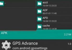 Aplikasi pencari titik koordinat gojek