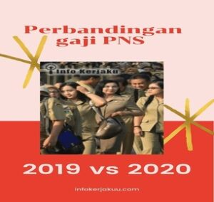 Perbandingan Gaji PNS 2019 vs 2020