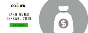 Tarif gojek terbaru 2019