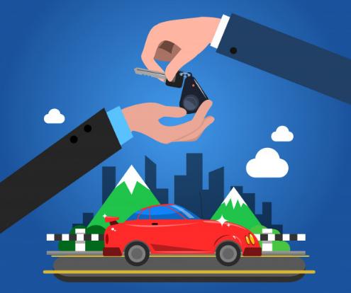 Cara kredit mobil di GrabCar
