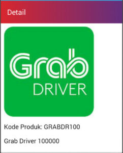 Saldo grab driver