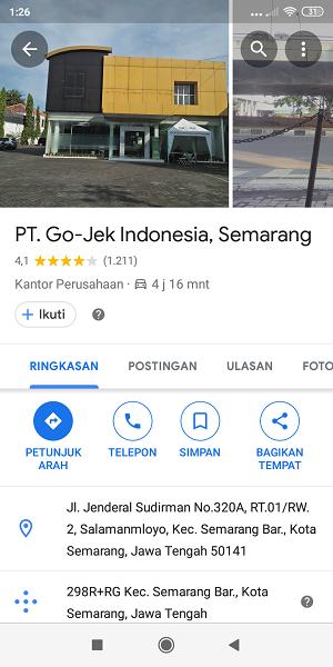 kantor Gojek Semarang