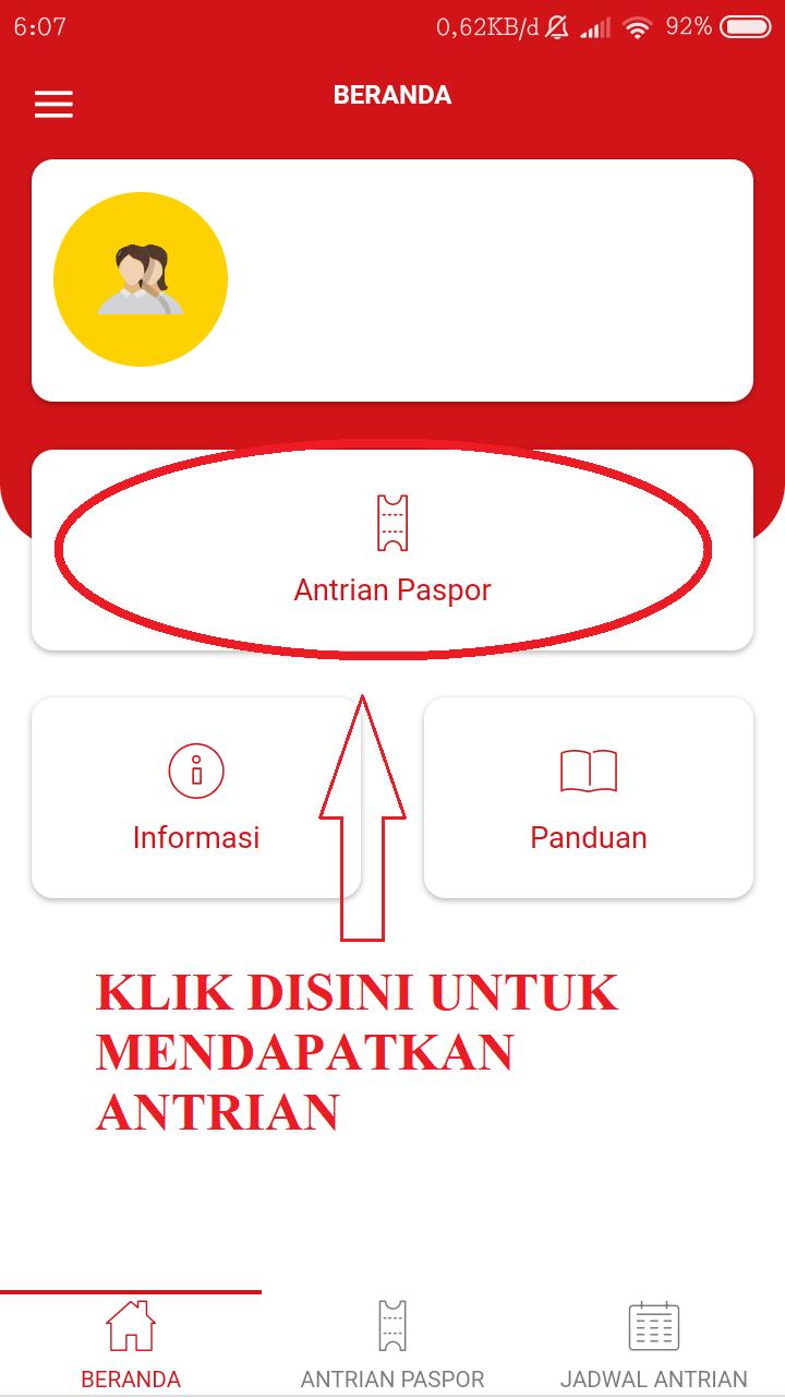 cara memperpanjang passport