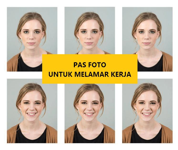 Ukuran Pas Foto Untuk Melamar Kerja