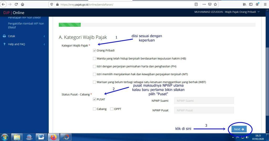 buat NPWP online