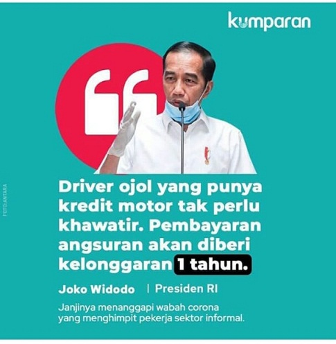 Janji Presiden Jokowi