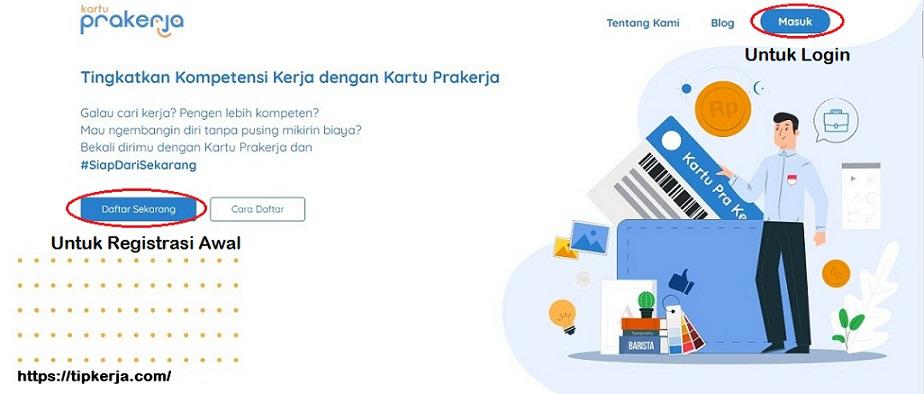 Website Kartu Prakerja
