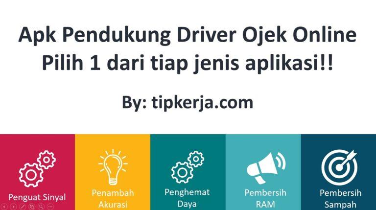 aplikasi tambahan buat driver ojol