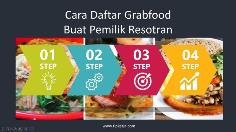 cara mendaftar grabfood untuk pemilik restoran