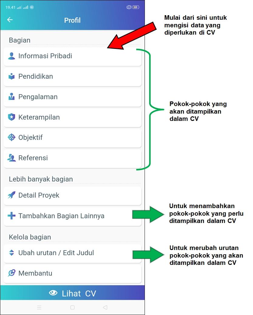 Tutorial Cara Membuat CV Di HP - Dijamin Menarik Dan Simple!
