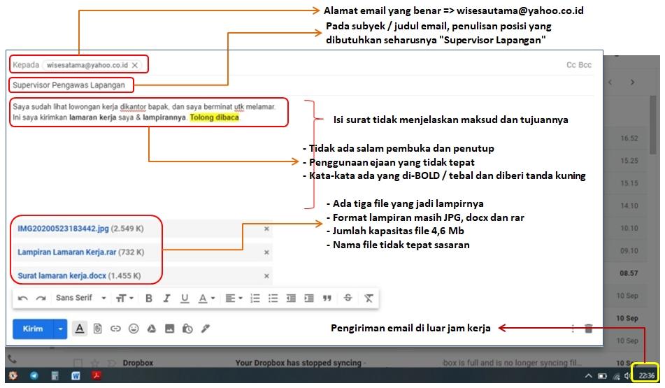cara melamar kerja lewat email pdf