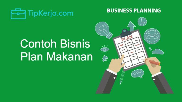 contoh bisnis plan makanan