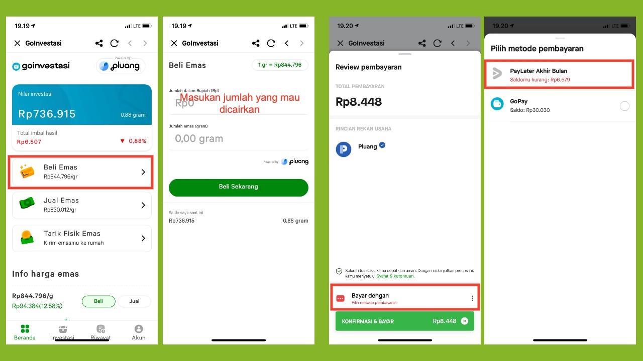 Cara Mencairkan PayLater Gojek