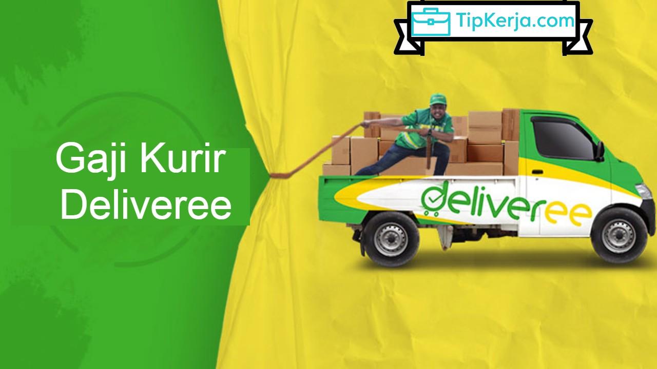 Pendapatan Gaji Kurir Deliveree