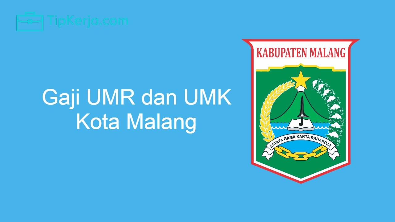 Gaji UMR Malang