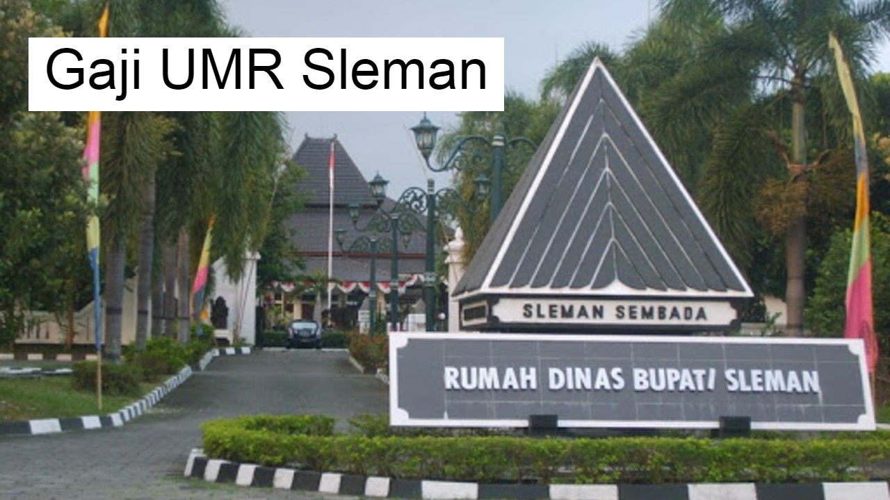 Gaji UMR Sleman