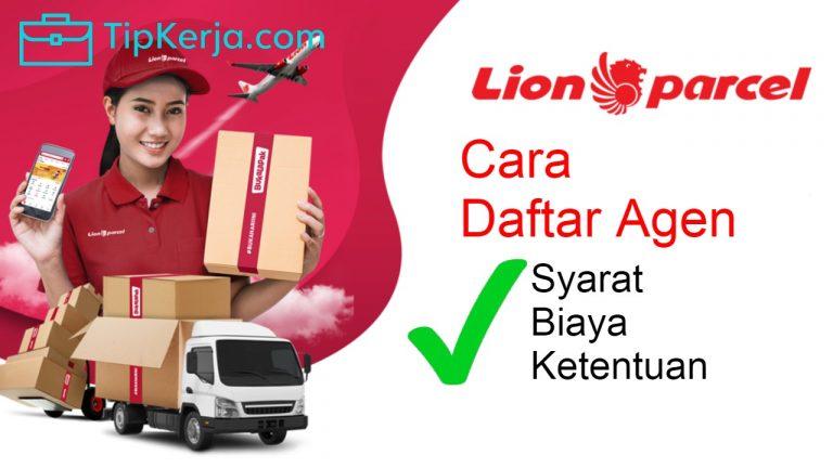 cara menjadi agen lion parcel