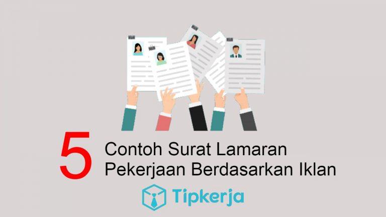 _Surat Lamaran Pekerjaan Berdasarkan Iklan