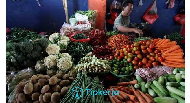 jualan sayur dan buah