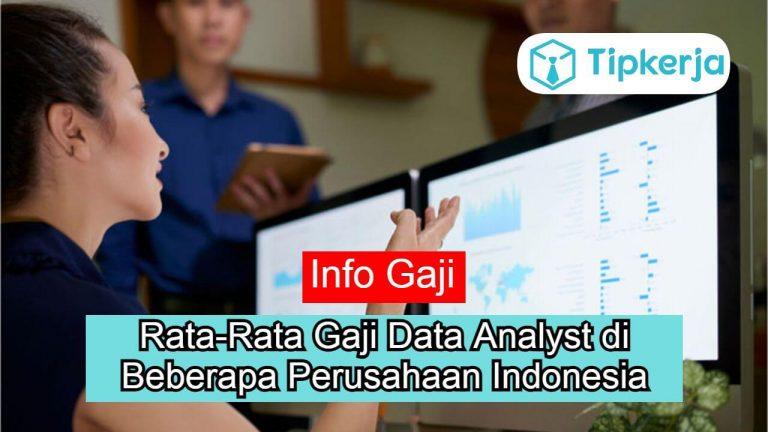 Rata-Rata Gaji Data Analyst